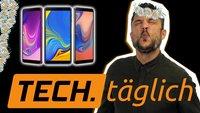 Samsung Galaxy A7 mit Triple-Cam, Mate 20 Pro mit Unterwassermodus und iPhone-Preise erklärt – TECH.täglich