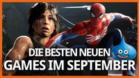 Die Releases im September 2018: Spider-Man, Shadow of the Tomb Raider und mehr
