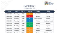 UEFA-Nations-League-Spielplan im PDF-Format