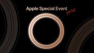Apple Event September 2018 im Liveticker: iPhone XS, iPhone 9 & Apple Watch?