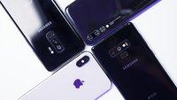 Samsung Galaxy Note 9, S9 Plus, Huawei P20 Pro & iPhone X: Welches Smartphone hat die beste Kamera?