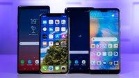 Top-10-Handys: Diese Smartphones wünschen sich Amazon-Kunden am häufigsten