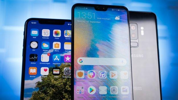 Doppelschlag von Huawei: Samsung und Apple kommen richtig ins Schwitzen