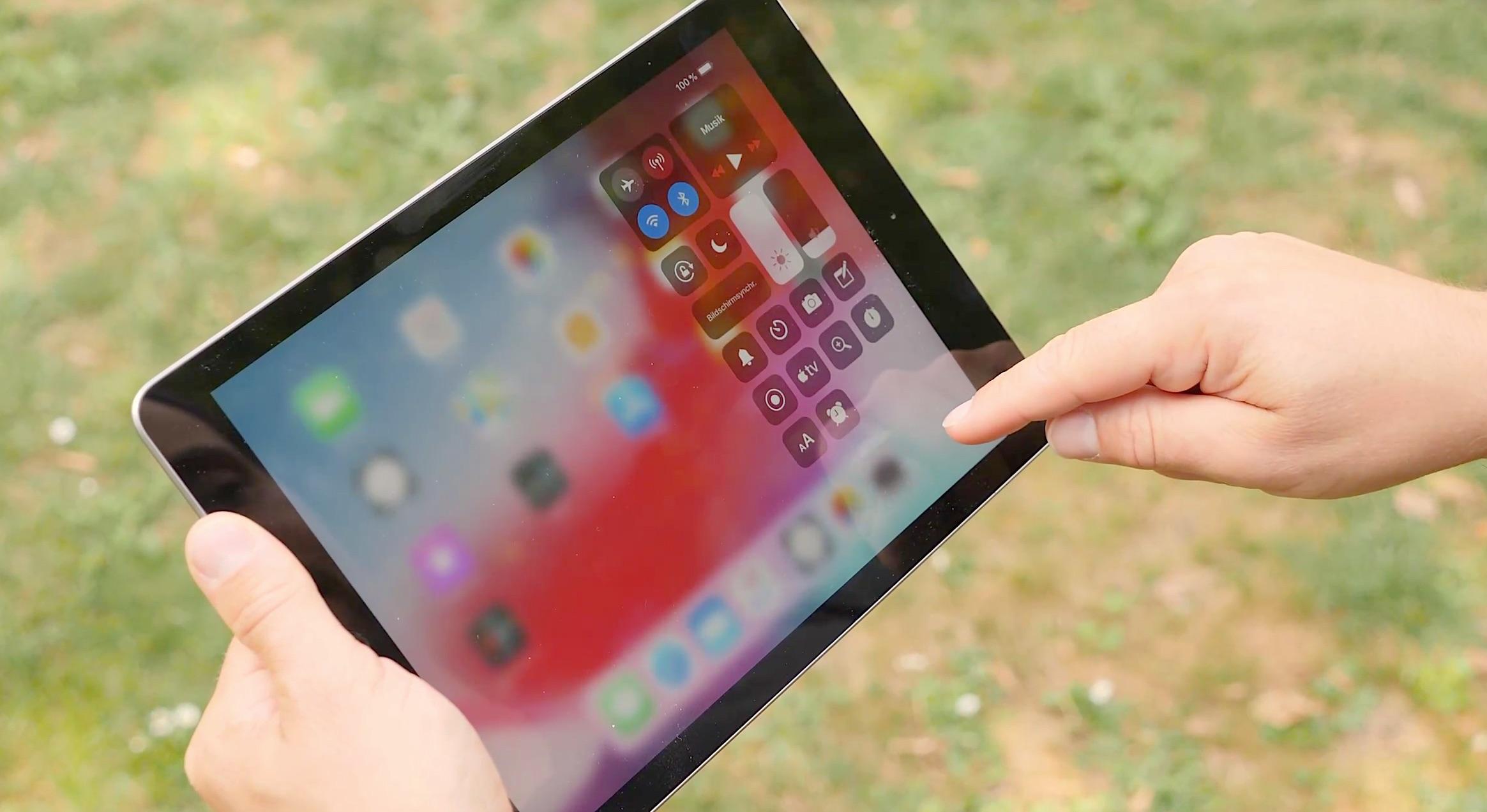 iPad Gesten von iOS 12 Kontrollzentrum aufrufen App schneller wechseln – GIGA