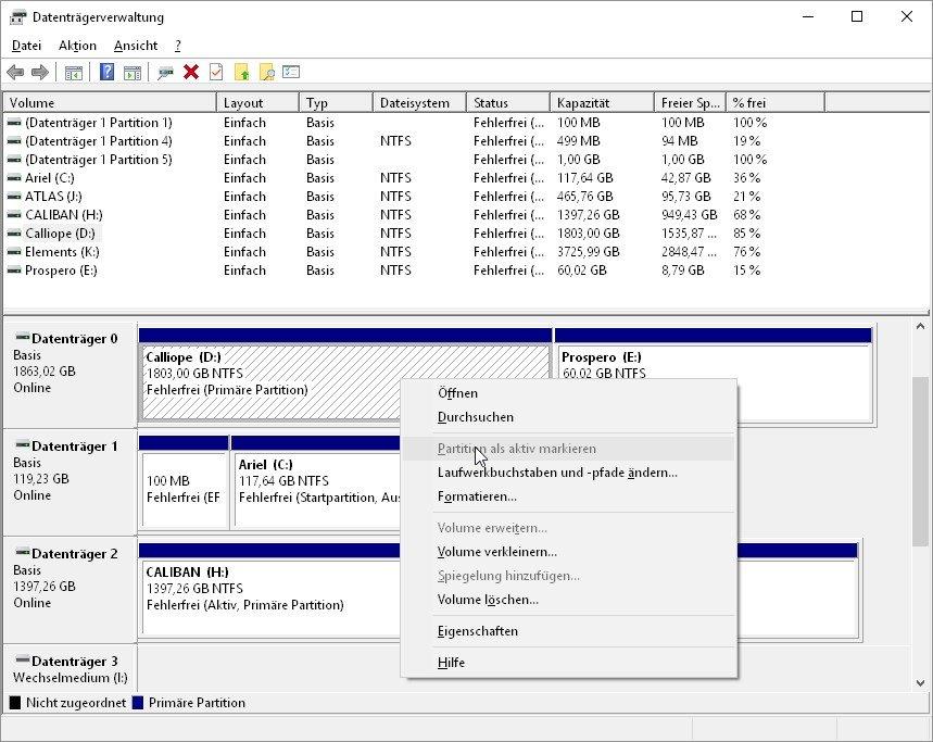 Interne Festplatte Wird Nicht Erkannt Windows 10