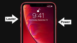 iPhone XR: Screenshot erstellen – so geht's