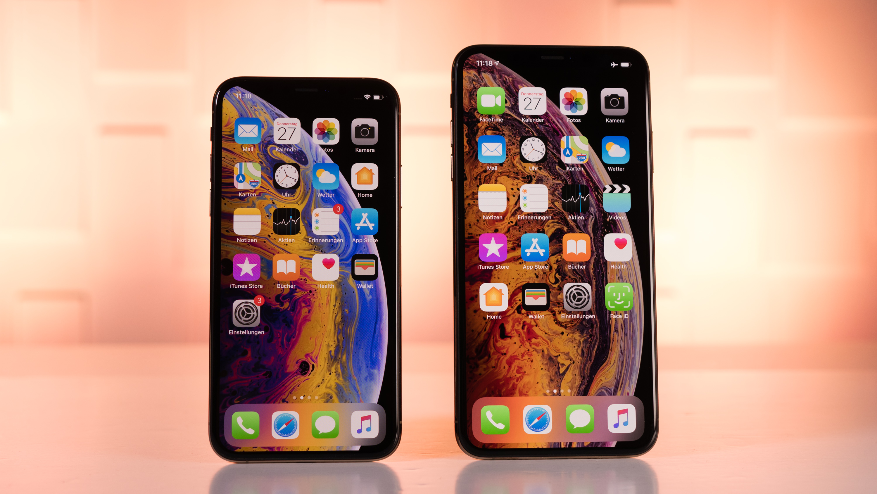 Iphone xs max display größe