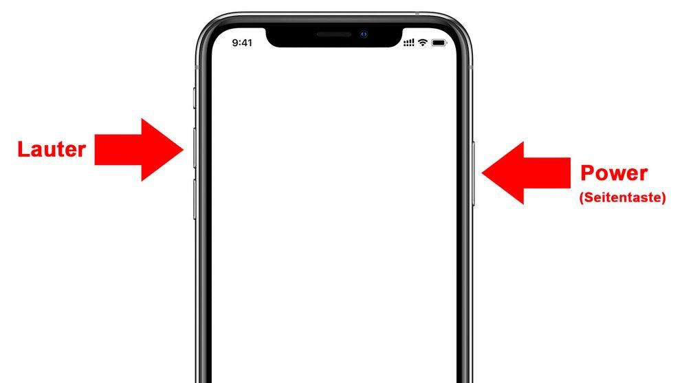 iPhone XS (Max): Screenshot erstellen – so geht's