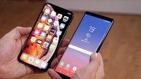 Trendsetter iPhone XS Max und Samsung Galaxy Note 9: Wollen Smartphone-Nutzer tatsächlich größere Handys?