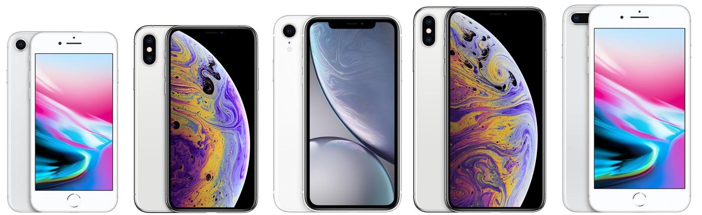 Unterschied iphone 8 plus und xs max