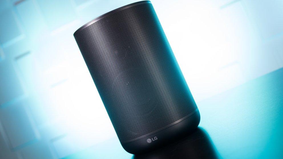 LG-Lautsprecher ThinQ WK7 im Test: Ok Google, wie gut