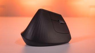 Logitech MX Vertical Maus im Test: Mehr Komfort dank Hand(um-)drehen