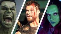 Die 20 stärksten Marvel-Superhelden