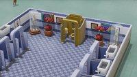 Two Point Hospital: Goldene Toilette bekommen - so geht's