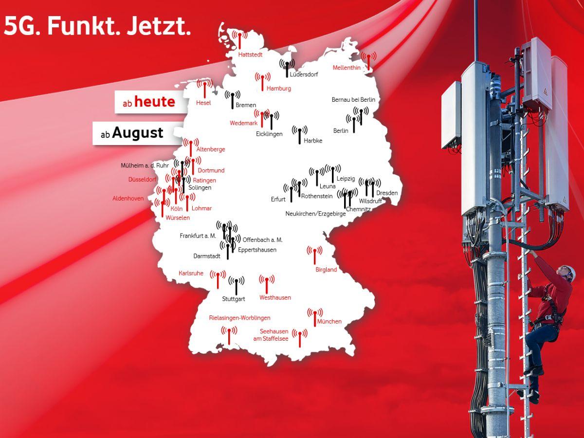 5g In Deutschland Karte