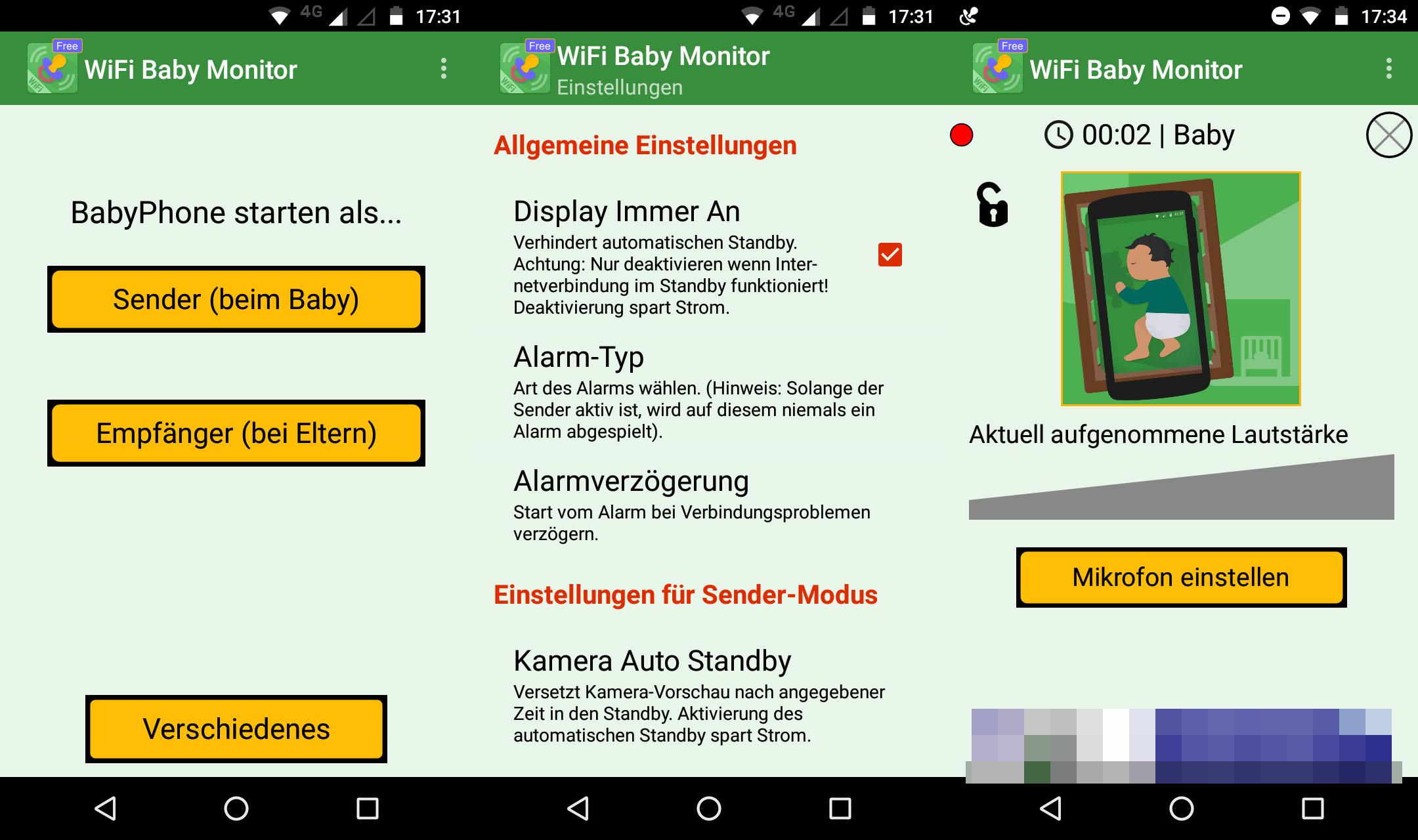 kostenlose babyphone app