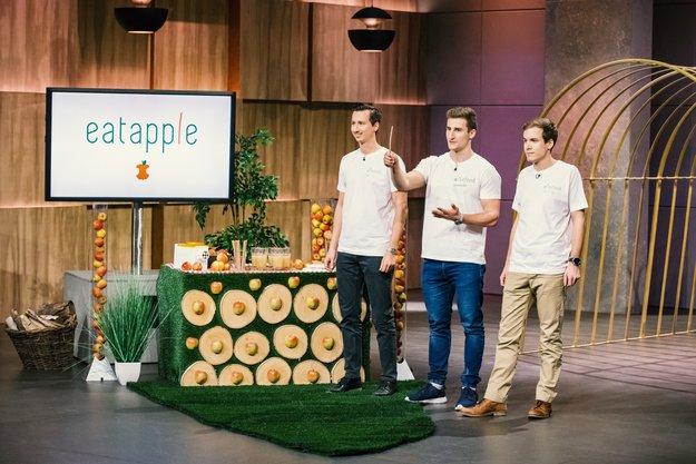"""Eatapple aus """"Die Höhle der Löwen"""" kaufen: Diesen Strohhalm kannst du essen und die Umwelt schonen"""