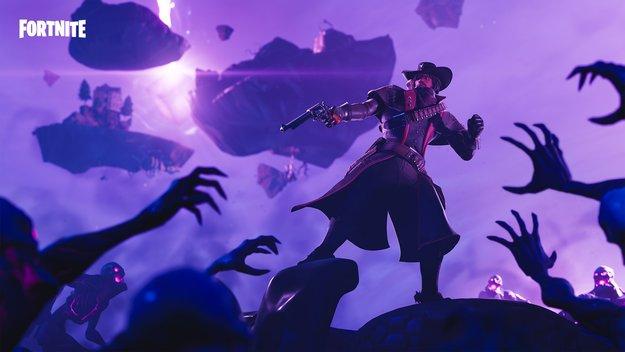 Fortnite: Würfel explodiert und wirft Spieler in neue Dimension