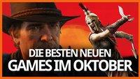 Die Releases im Oktober 2018: Assassin's Creed Odyssey, Red Dead Redemption 2 und mehr