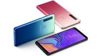 Samsung Galaxy A9 (2018) vorgestellt: So ein Kamera-Smartphone gab es noch nie
