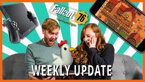 Weekly Update: Die Hühner von Assassin's Creed, Fallout 76 Mod-Support & Witcher-Schauspieler stehen fest