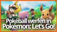 Pokémon Let's Go angespielt: So klappt das Werfen mit dem Pokéball Plus