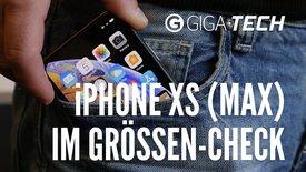 iPhone XS (Max) im Größen-Check