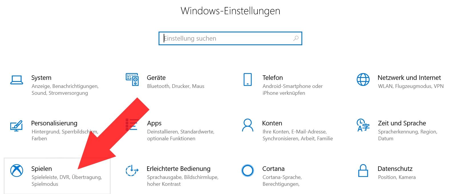 Xbox Windows 10 Deaktivieren
