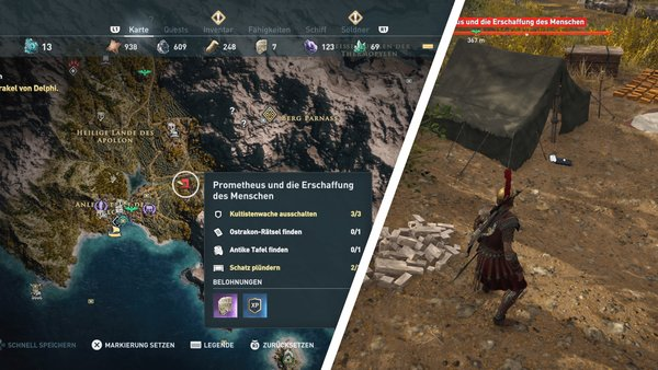 assassins creed odyssey uralte tafeln finden