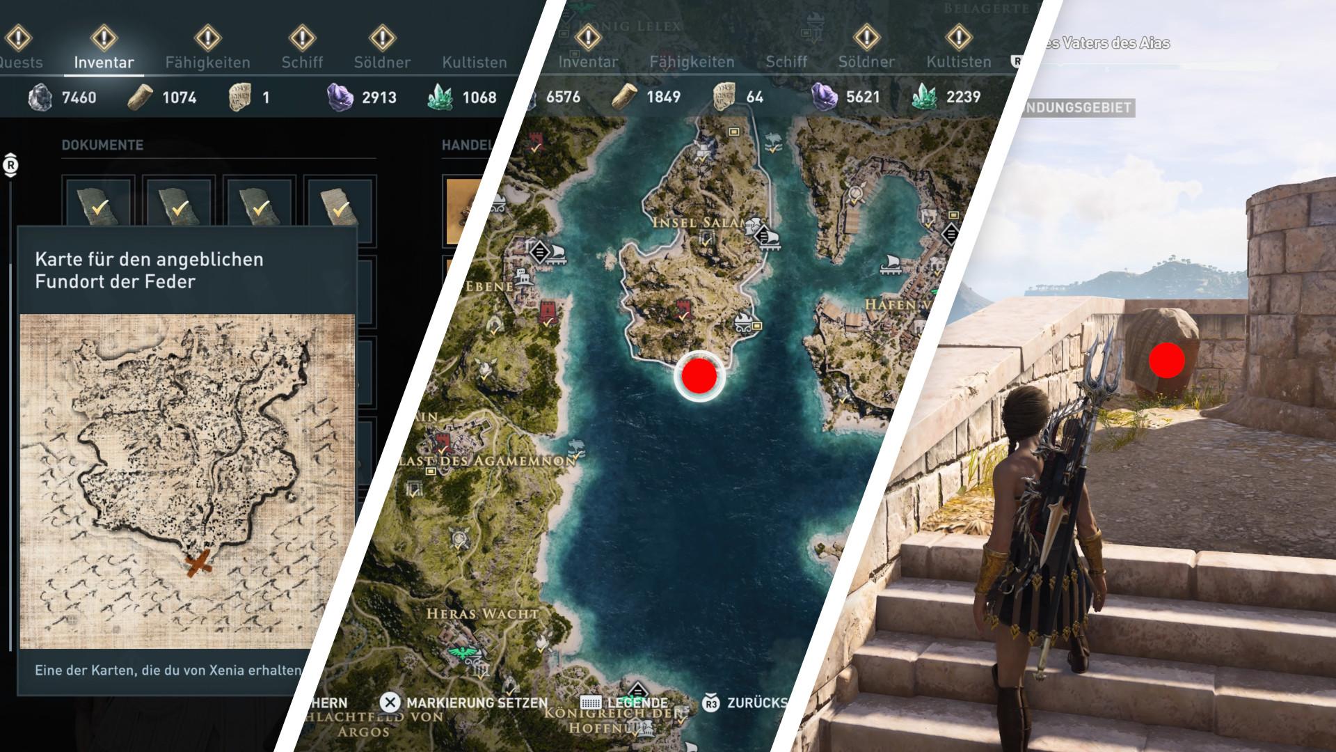 Assassin S Creed Odyssey Xenias Schatzkarten Alle Fundorte Und