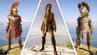 Assassin's Creed Odyssey: Legendäre Rüstungen - Fundorte, Bilder und Werte