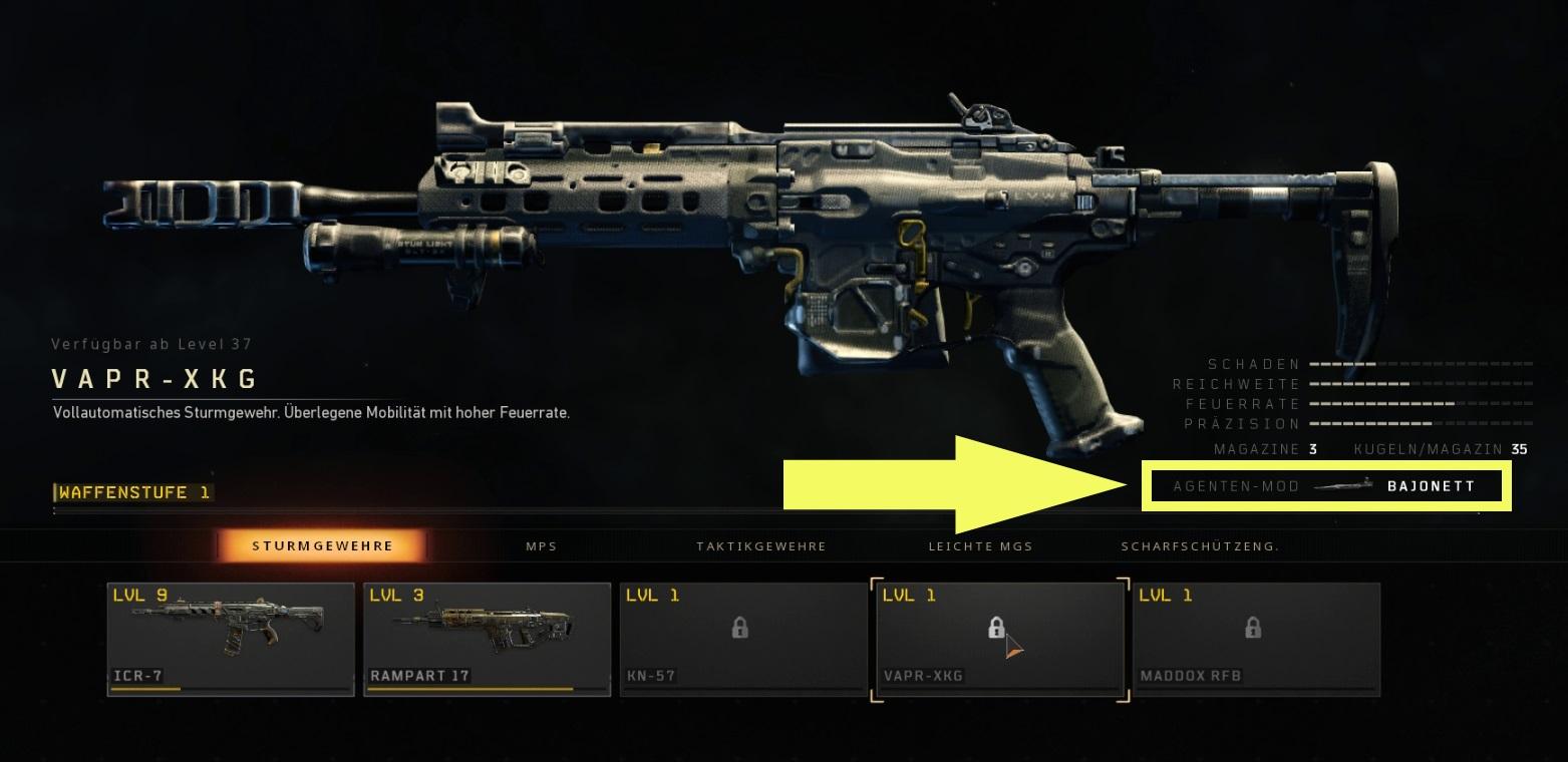 CoD Black Ops 4: Agenten-Mods - Alle Operation Mods freischalten