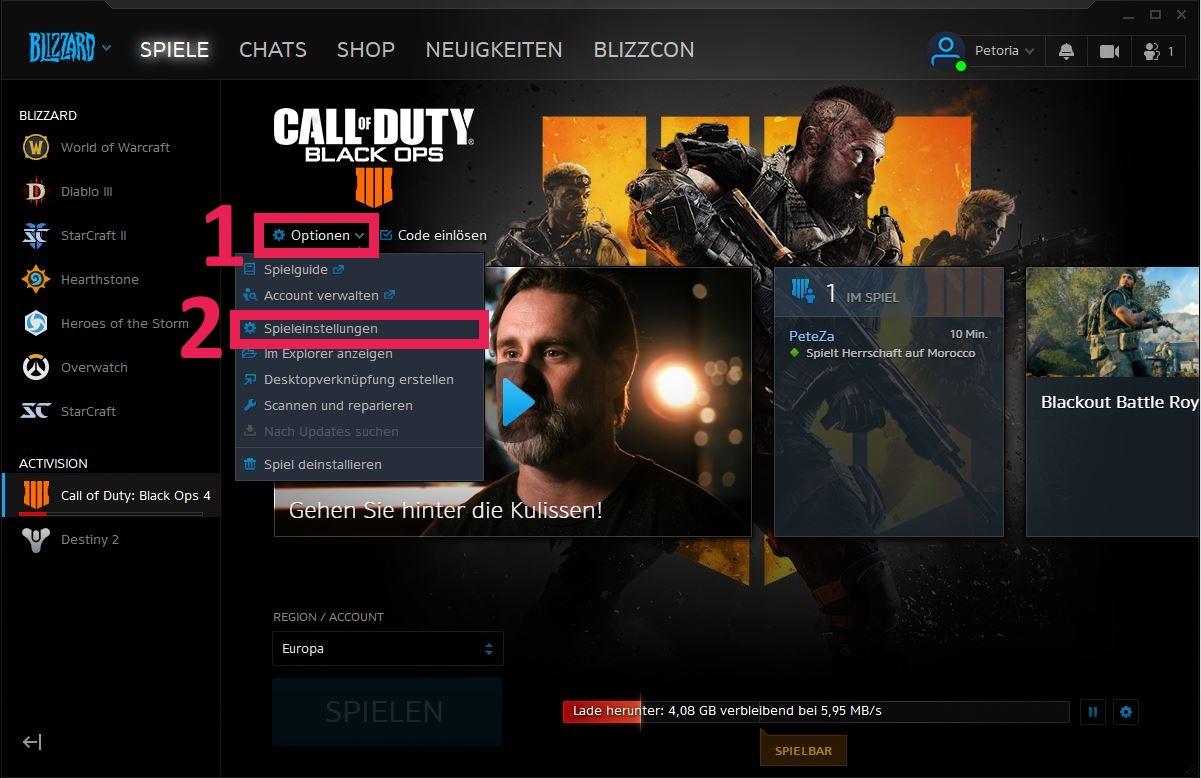 Cod Black Ops 4 Auf Deutsch Stellen So Gehts Auf Pc Und Konsole