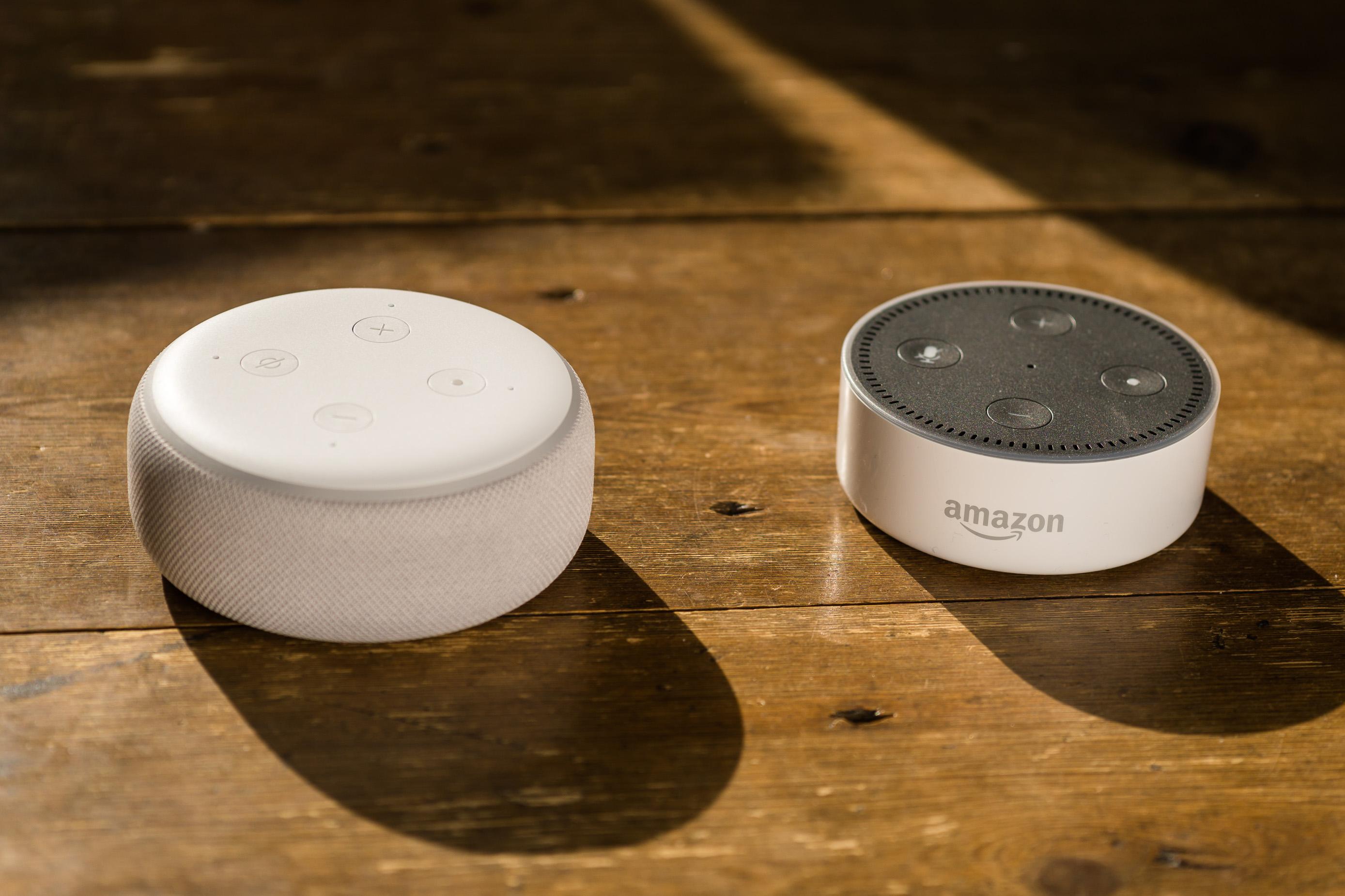 Klang im Test Amazon Echo, Echo Dot und Echo Plus im Audiovergleich