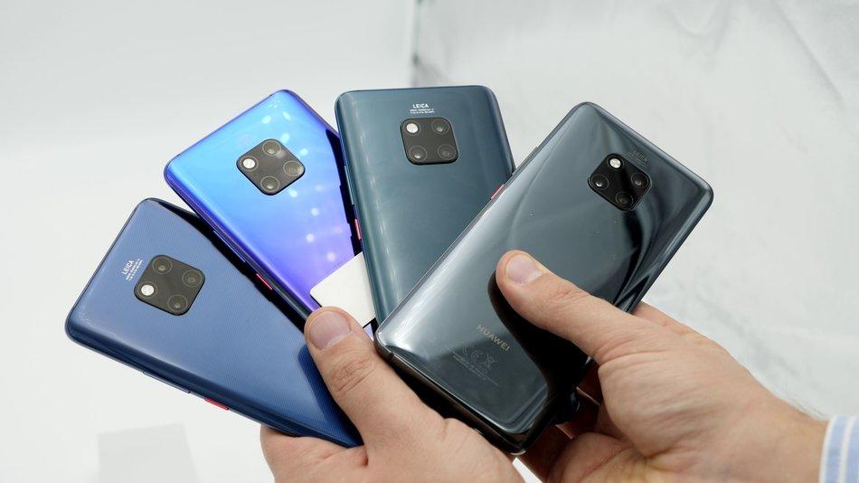 Huawei Mate 20 Pro Farben