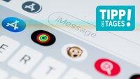 iOS 12: App-Leiste in der Nachrichten-App bearbeiten, so gehts