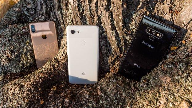Google Pixel 3 XL, Samsung Galaxy Note 9 und iPhone XS Max: Welches Smartphone hat die beste Kamera?
