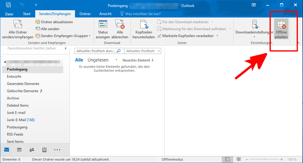 From online to outlook offline How Do