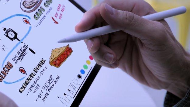 Apple Pencil und Smart-Keyboard: So teuer ist das neue Zubehör fürs Apple-Tablet