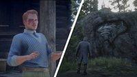 """Red Dead Redemption 2: Felsschnitzereien - alle Fundorte für """"Geologie für Anfänger"""""""