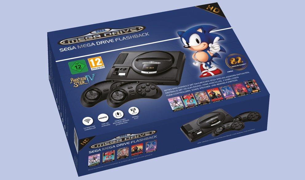 Aktuell bei Lidl: Sega Mega Drive Flashback HD 2019 für 99