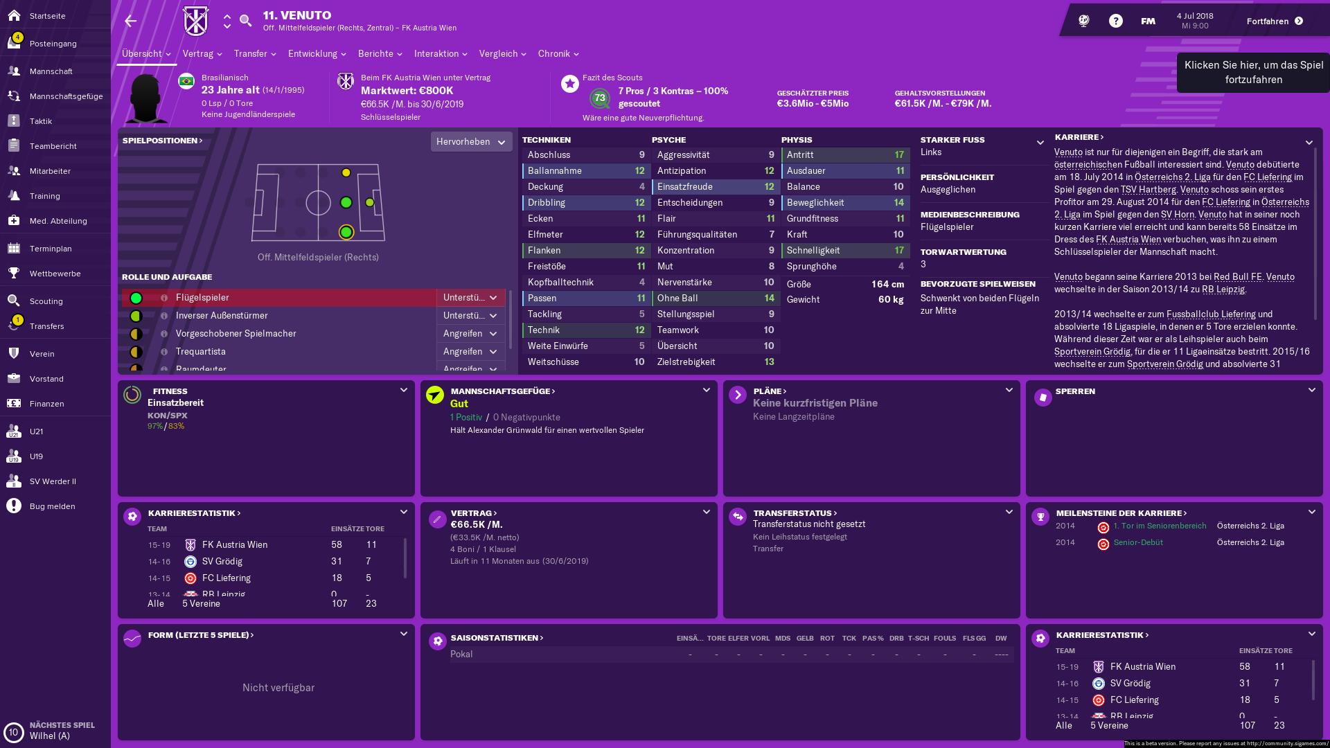 Football Manager 19 Im Test Das Business In Seiner Realsten