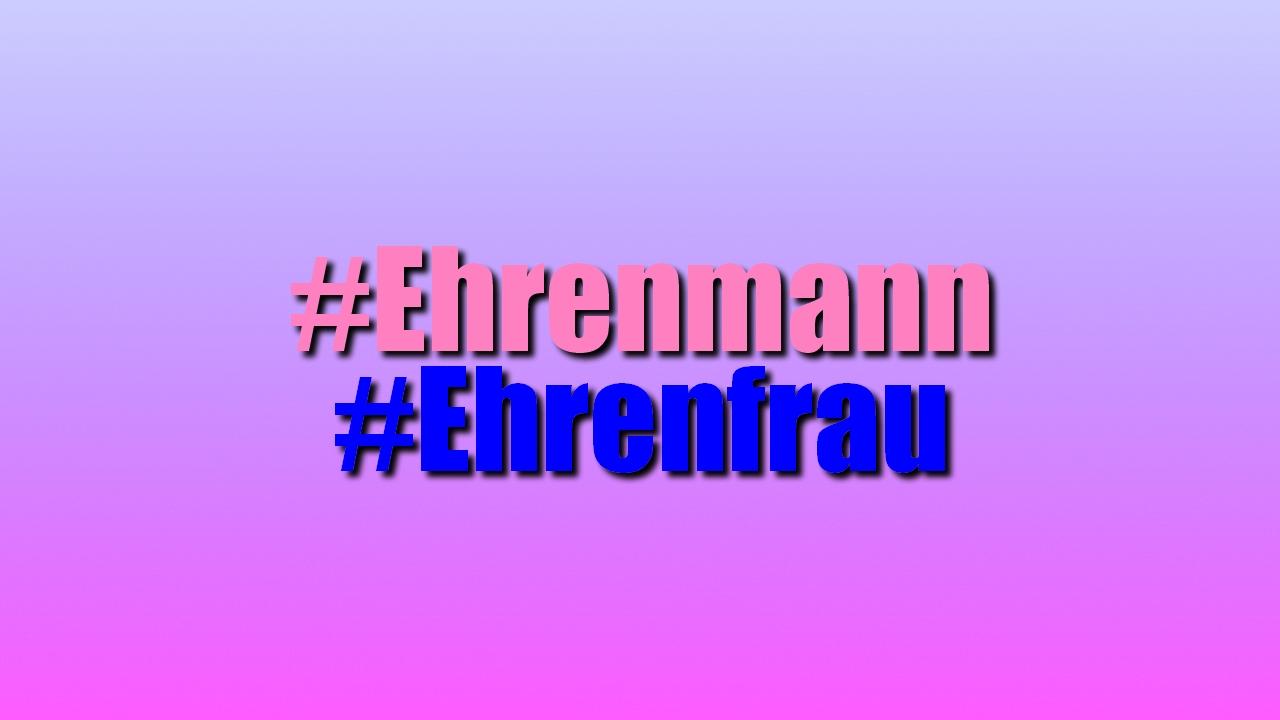 Ehrenmann Ehrenfrau Bedeutung Auf Twitter Youtube Co Jugendwort 2018