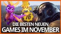 Die Releases im November 2018: Fallout 76, Battlefield 5, Pokémon und mehr
