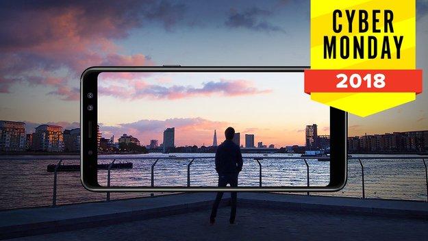 Samsung Galaxy A8 am Cyber Monday: Zwei Smartphones zum Preis von einem erhalten