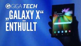 Samsung faltbares Smartphone: Das ist...