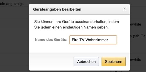 Fire Tv Umbenennen