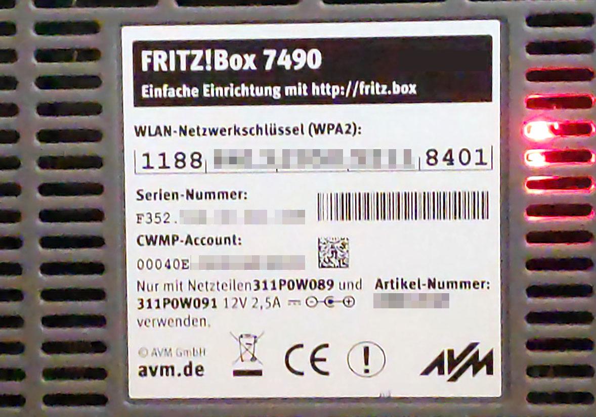 Fritzbox auf Werkseinstellungen zurücksetzen Reset – so geht's