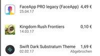 Meine Apps anzeigen (Installierte, Alte, Gekaufte) – so geht's