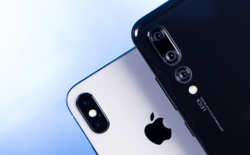 Schwerer Schlag Huawei Nimmt Apple